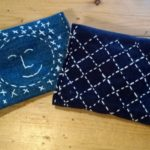 Small pouch we make in Visible Mending