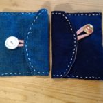 Small pouch we make in Visible Mending class